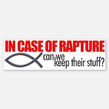 Rapture Bumper Bumper Sticker