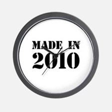 Made in 2010 Wall Clock