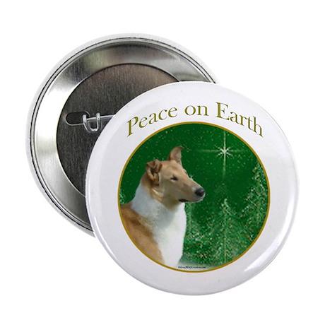 Collie Peace Button