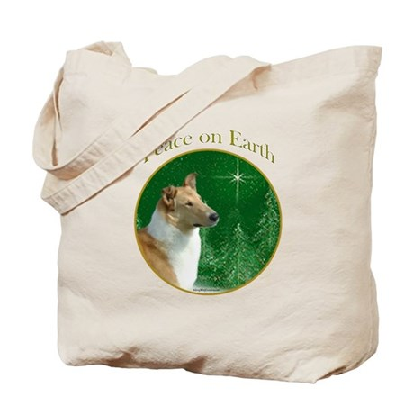 Collie Peace Tote Bag