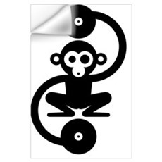 Monkey Music Wall Decal