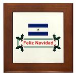 Nicaragua Feliz... Framed Tile