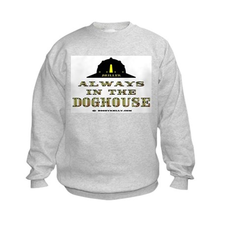 In The Doghouse Kids Sweatshirt