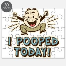 I Pooped Today Puzzle