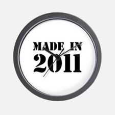 Made in 2011 Wall Clock