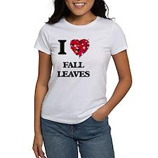I love Fall Leaves T-Shirt