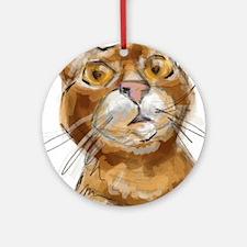 Ginger Cat DALI Ornament (Round)