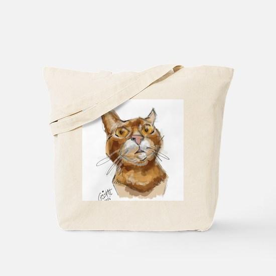 Ginger Cat DALI Tote Bag