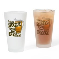 Beer Humor Take A Pitcher Drinking Glass