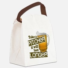 Beer Humor Take A Pitcher Canvas Lunch Bag
