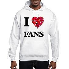 I love Fans Jumper Hoody