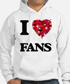 I love Fans Jumper Hoody
