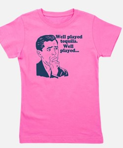 Well Played Tequila Girl's Tee