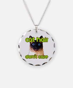 Cat Hair Dont Care Necklace