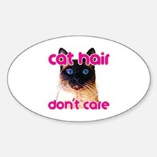 Cat Hair Dont Care Decal