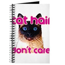Cat Hair Dont Care Journal