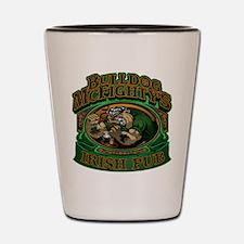 Bulldog McFightys Shot Glass