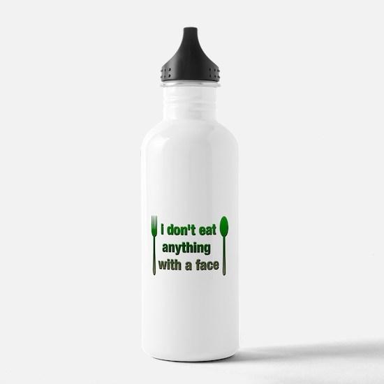 Unique Vegetarian Water Bottle