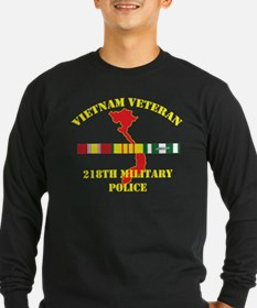 218th Military Police Long Sleeve T-Shirt