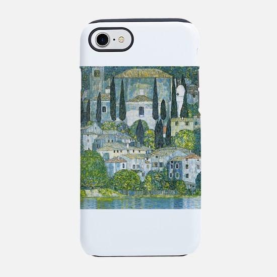 Gustav Klimt Church in Casso iPhone 8/7 Tough Case