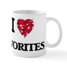I love Favorites Mug