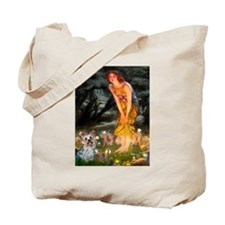 Fairies & Yorkie (T) Tote Bag