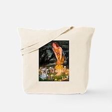 Fairies & Yorkie (T) Tote Bag