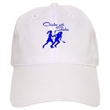 CHICKS WITH STICKS Baseball Cap