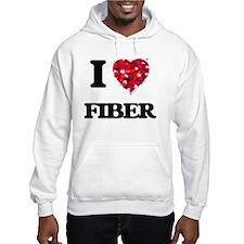 I love Fiber Hoodie