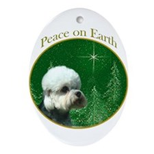Dandie Peace Oval Ornament