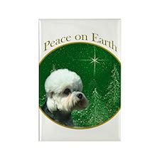 Dandie Peace Rectangle Magnet