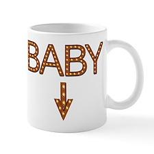 Baby in lights Mug
