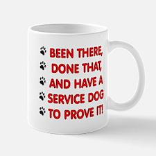 SERVICE DOG Mugs
