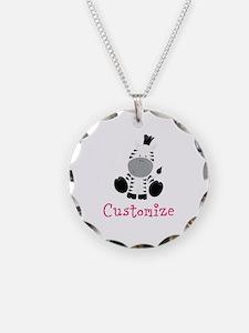 Custom Baby Zebra Necklace