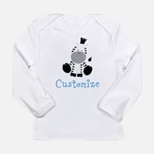 Baby Zebra Long Sleeve Infant T-Shirt