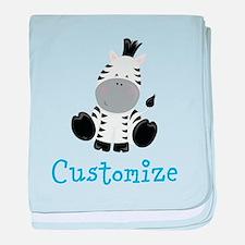 Baby Zebra baby blanket