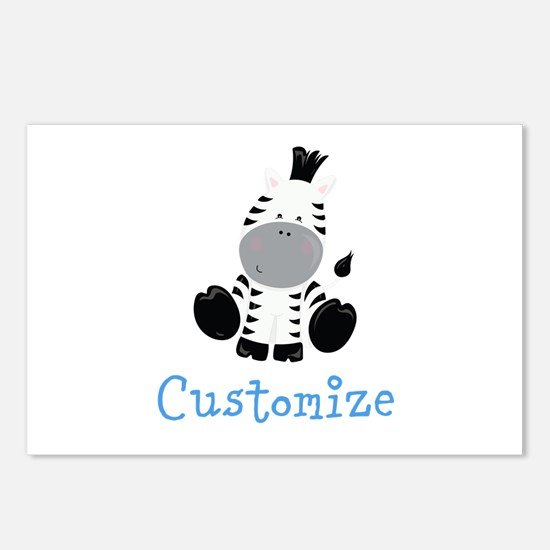 Baby Zebra Postcards (Package of 8)
