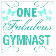 One Fabulous Gymnast Poster