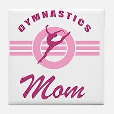 Gymnast Mom Tile Coaster
