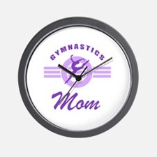 Gymnast Mom Wall Clock