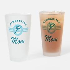 Gymnast Mom Drinking Glass