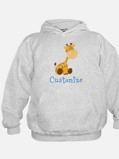 Custom Baby Giraffe Hoodie