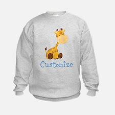 Custom Baby Giraffe Sweatshirt