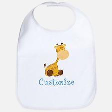 Custom Baby Giraffe Bib