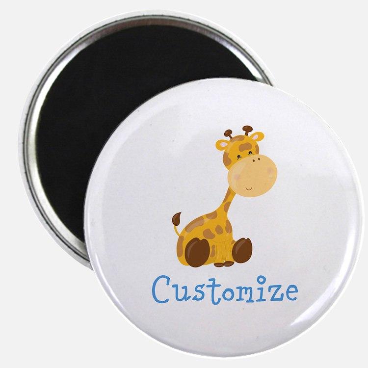 Custom Baby Giraffe Magnet