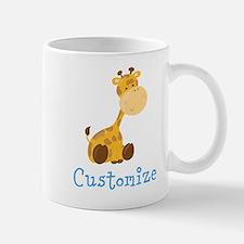 Custom Baby Giraffe Mug