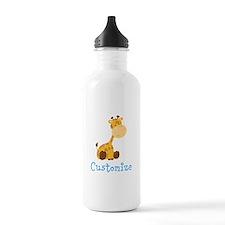 Baby Giraffe Sports Water Bottle