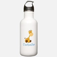 Custom Baby Giraffe Water Bottle