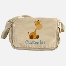 Custom Baby Giraffe Messenger Bag
