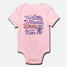 Monkey Loves Mom Infant Bodysuit